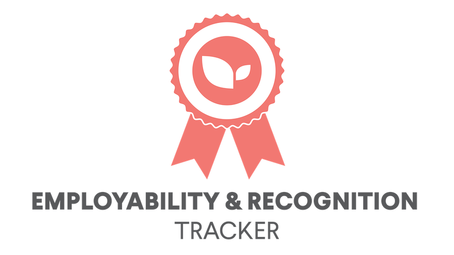 Employability and recognition tracker