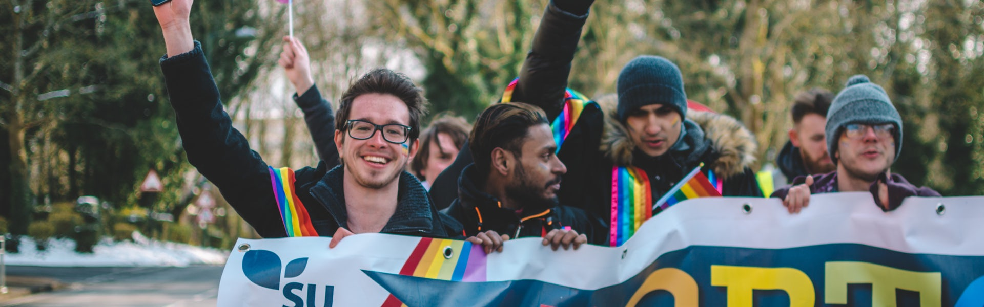 LGBTQ+ History Month page banner